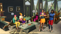 The Sims 4: Fitness скриншот 2